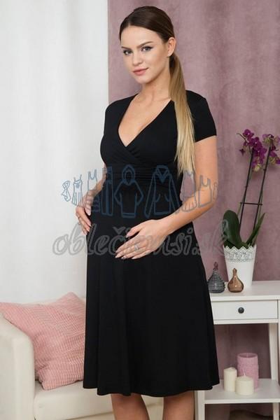 a3d5414e3bad áčkové šaty s krátkym rukávom – čierna 5