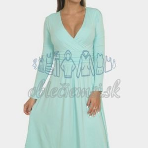 3665253e0bf8 Áčkové bavlnené šaty s riasením