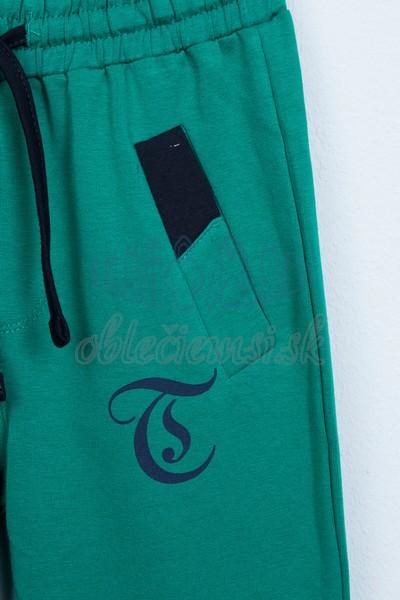 Športové nohavice zelené 3