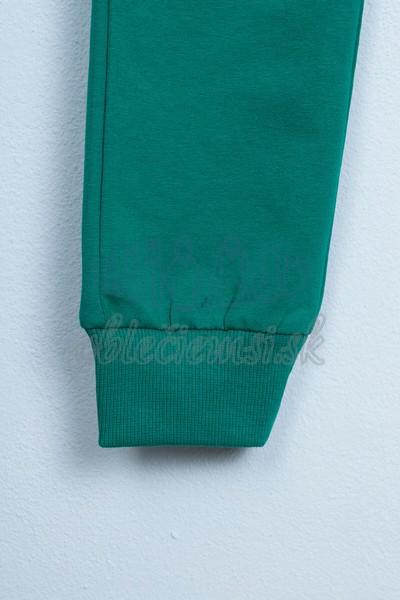 Športové nohavice zelené 4