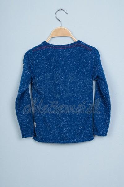 Tričko s nápisom Paris modrá 2