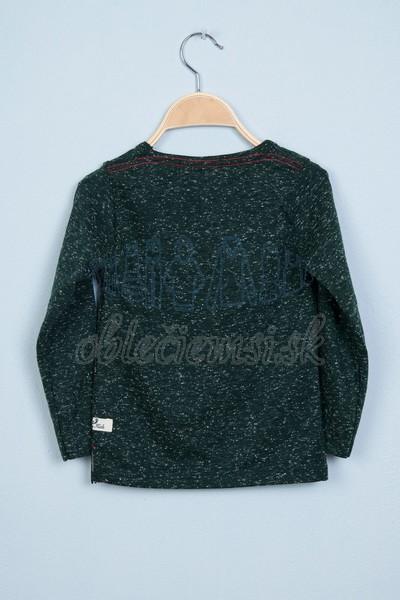 Tričko s vreckom zelená 2