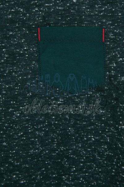 Tričko s vreckom zelená 3